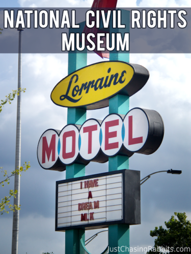 National Civil Rights Museum at the Lorraine Motel in Memphis, Tennessee | The Lorraine Motel is the site of the assassination of Dr. Martin Luther King, Jr, and has been turned into an educational Civil Rights Museum. | #Memphis #Tennessee #CivilRights | Things to do in Memphis | Things to do in Tennessee