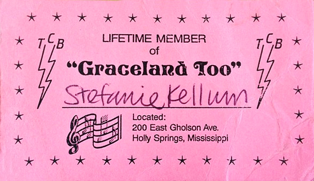 Graceland Too Lifetime Membership Card
