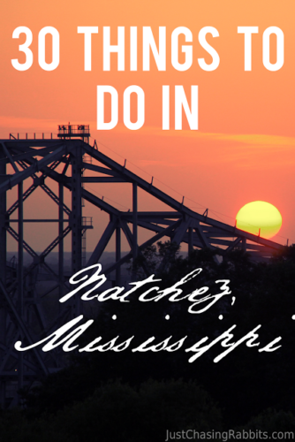 30 Things To Do In Natchez, Mississippi | Here's a Natchez Bucket List to help you plan your itinerary. | What to do in Natchez | Things to do in Mississippi | #Natchez #visitms #Mississippi #USA | Best of Natchez