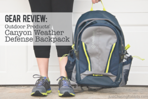 Travel Gear Review: Canyon Weather Defense Backpack