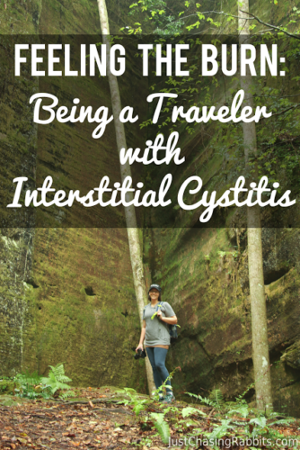 Feeling the Burn: Being a Traveler with Interstitial Cystitis | #IC #Interstitialcystitis | Living with IC