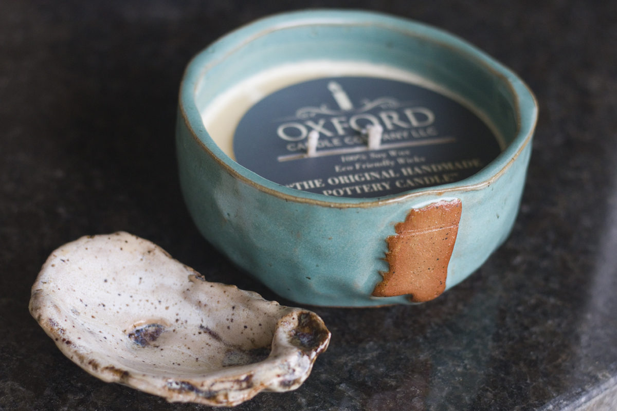 Locally made handmade pottery is a great souvenir from Mississippi.