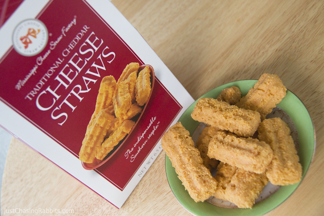 Cheese Straws from the Mississippi Cheese Straw Factory in Yazoo, Mississippi