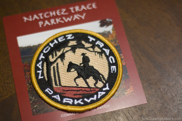 Natchez Trace Completion Patch from the Natchez Trace Parkway