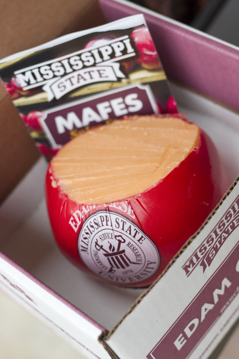 Edam cheese from MSU Mississippi State University