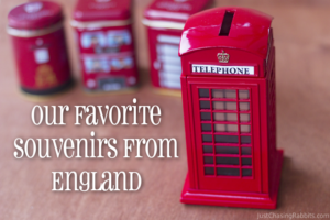 Our Favorite Souvenirs from England