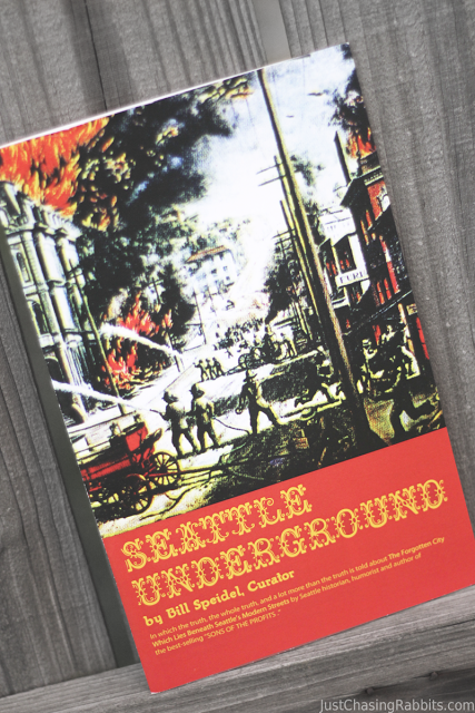 A book about the Seattle Underground is a fantastic souvenir from Seattle, Washington, especially if you experience the Bill Speidel Seattle Underground Tour
