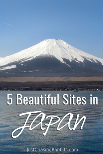 5 Beautiful Sites in Japan | See some of Japan's incredible sites! | Things to see in Japan | Things to do in #Japan | #Travel