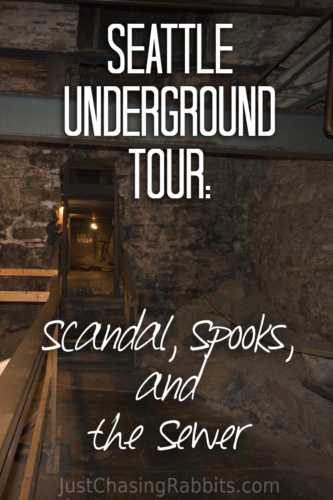 Seattle Underground Tour Scandal, Spooks, and the Sewer | Take an informative and unexpected tour of #Seattle #Washington with the Underground Tour | #USA #UnitedStates #travel #unusual