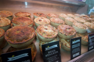 Meat pies from the Pieminister in London