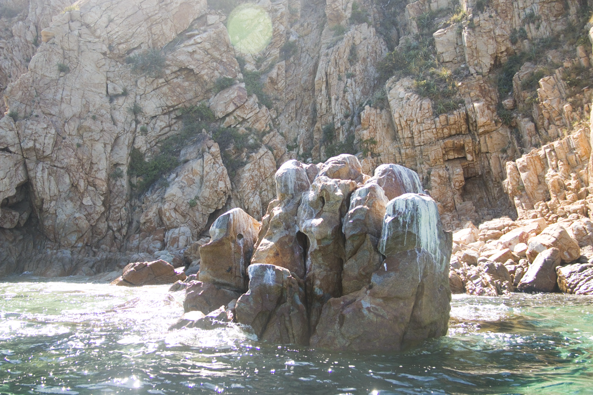 Cabo San Lucas The Hand Rock Formation