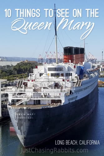 10 Things to See on the Queen Mary in Long Beach, California   Things to do in Long Beach   Things to do in Southern California   Things to do in California   #USA #UnitedStates #Travel #Ship