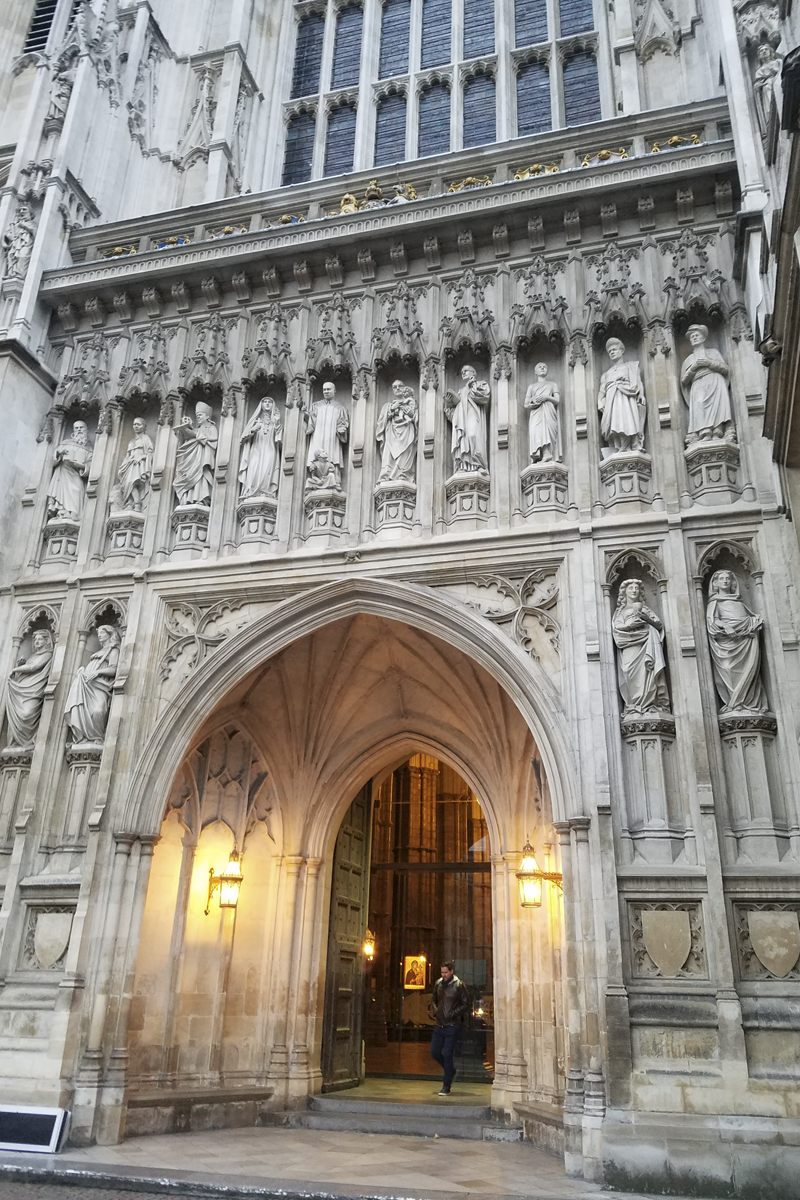 20th century martyrs at Westminster Abbey