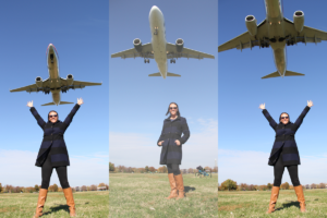 Gravelly Point Park and its low-flying planes in Arlington, Virginia