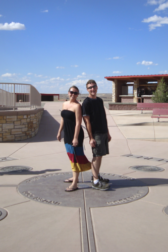 Mark and Jenni at Four Corners Monument