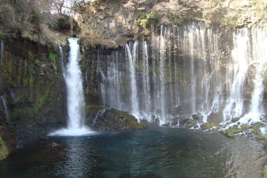 Shiraito Falls in Fujinomiya Japan