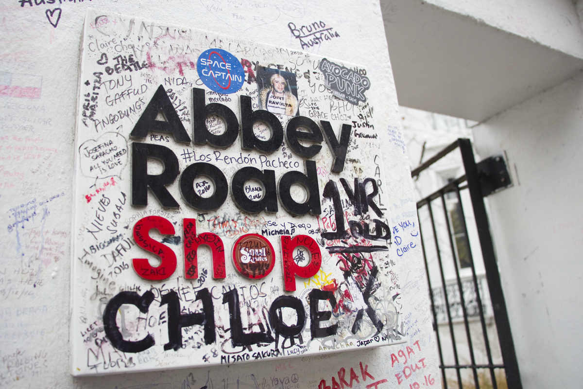 Abbey Road Shop in London for Abbey Road Studios and Beatles souvenirs