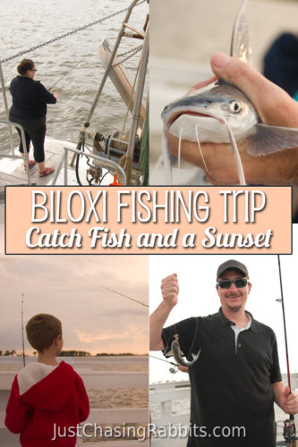 Biloxi Fishing Trip is a great way to Catch Fish and a Sunset on the #Mississippi Gulf Coast | Things to do in Mississippi | #USA #travel #sponsored #mscoastlife #visitms