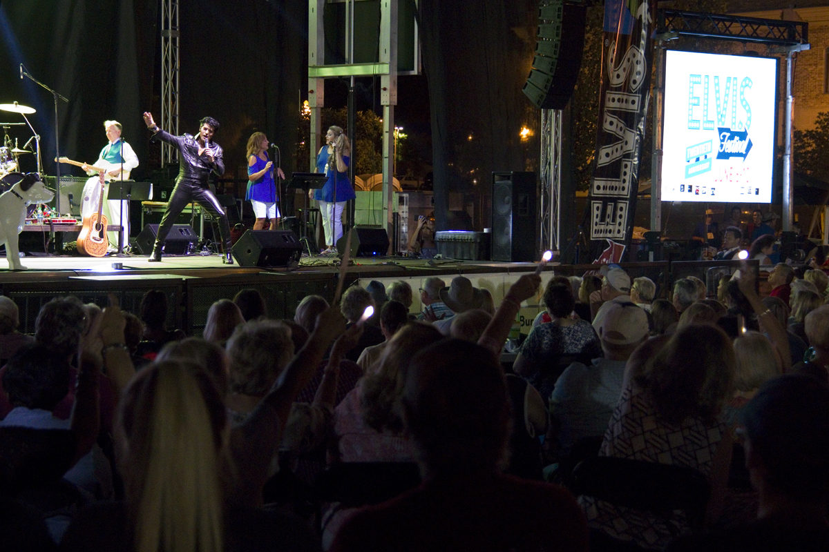 The 68 Comeback Special with Dean Z at the Tupelo Elvis Festival