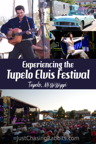 Experiencing the Tupelo Elvis Festival in Tupelo, Mississippi, USA is one event you should put on your travel list! It's one of the best things to do in Tupelo and north Mississippi, and is one of the best festivals we've ever attended. #Mississippi #Elvis | Things to do in Mississippi