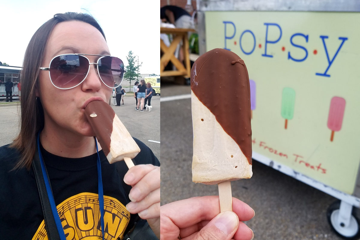 The King Popsicle from Popsy in Tupelo, Mississippi