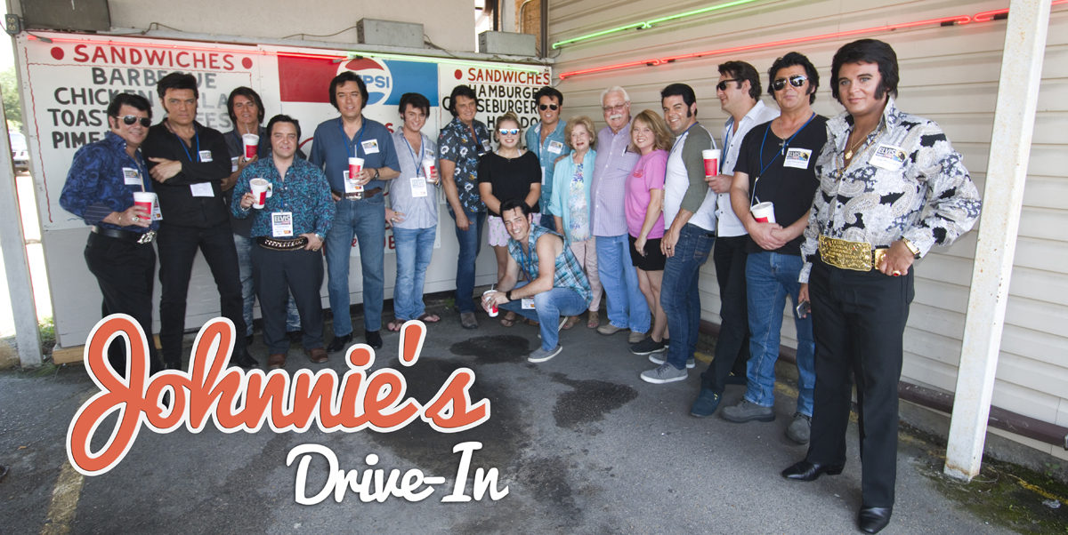 Tupelo Elvis Festival Tribute Artists at Johnnie's Drive In