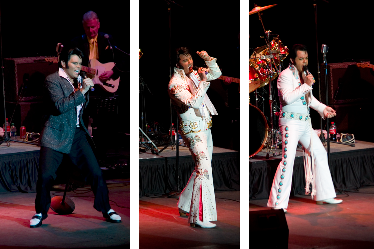 Round one of the Tupelo Ultimate Elvis Tribute Artist Competition