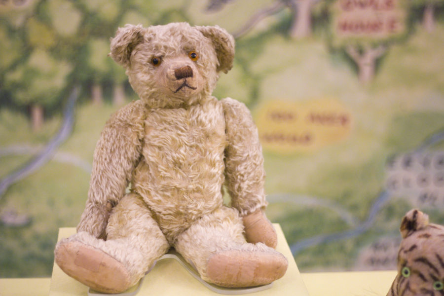 The real Winnie the Pooh is on display at the New York Public Library