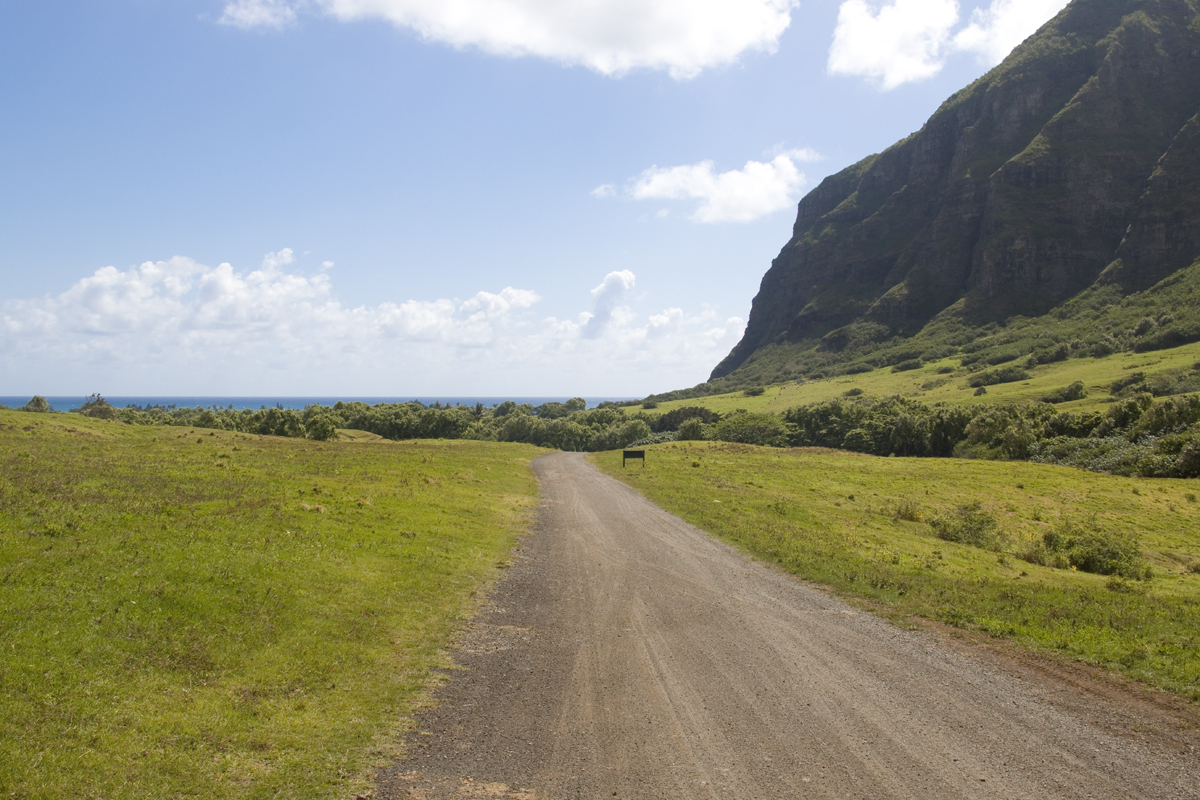 50 First Dates filming location at Kualoa Ranch in Oahu, Hawaii.