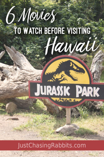 6 Movies to Watch Before Visiting Hawaii will give you some travel inspiration for the #aloha islands or maybe just satisfy your wanderlust until your next trip! | #Hawaii #USA | Movies about Hawaii | Movies filmed in Hawaii | #JurassicPark | #Lilo&Stitch | #PearlHarbor | #travelinspiration
