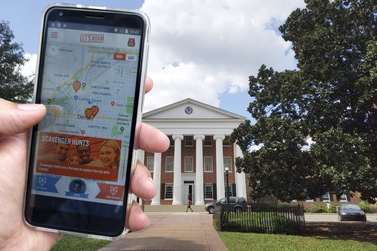 An early review of the Let's Roam Scavenger Hunt as we tried it in Oxford, Mississippi
