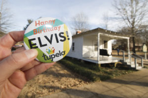 Happy birthday Elvis! Celebrating the birthday of the king of rock n roll at his birthplace in Tupelo, Mississippi