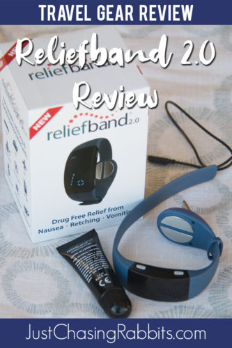Our review of the Reliefband 2.0 drug-free remedy for nausea and motion sickness. See why this is a great option for travelers! | #sponsored #travel #travelgear #gearreview #productreview #travelgearreview | Nausea remedy Motion Sickness remedy | Wear this band to prevent motion sickness.