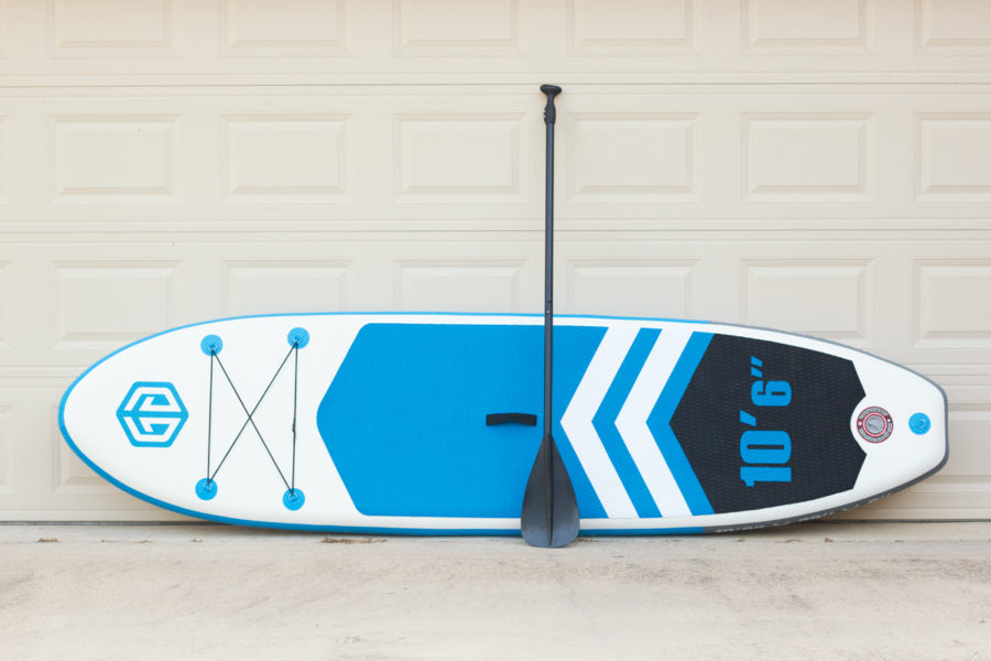 Goosehill stand up paddle board rainbow model with paddle
