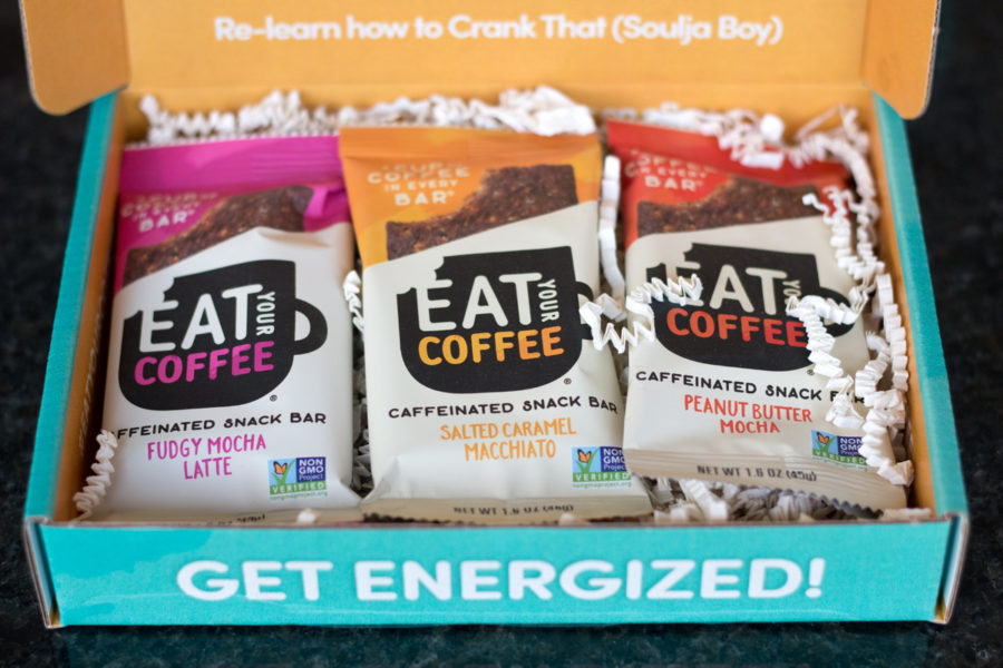 Eat Your Coffee bars in box