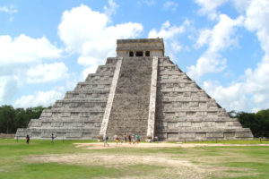 El Castillo Maya Pyramid at Chichen Itza