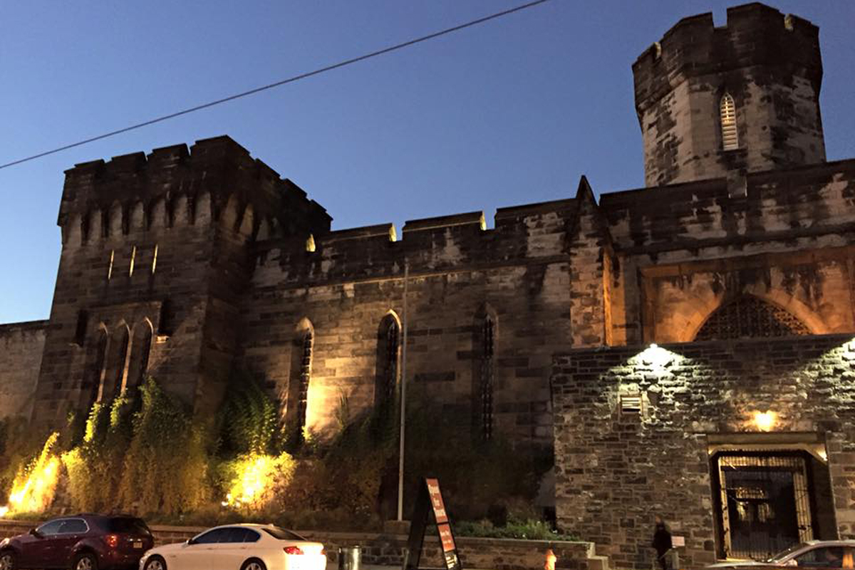 Exterior of Eastern State Penitentiary