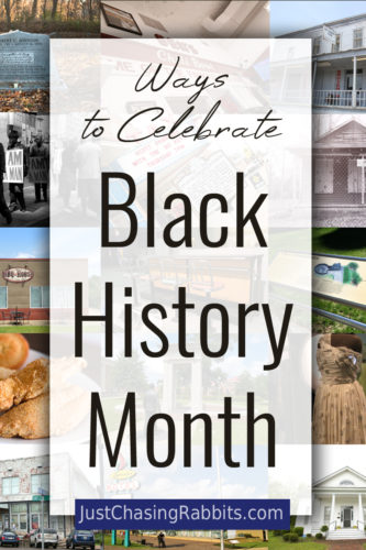 Ways to celebrate Black History Month with online exhibits, activities, and sources for books, films, and further education.