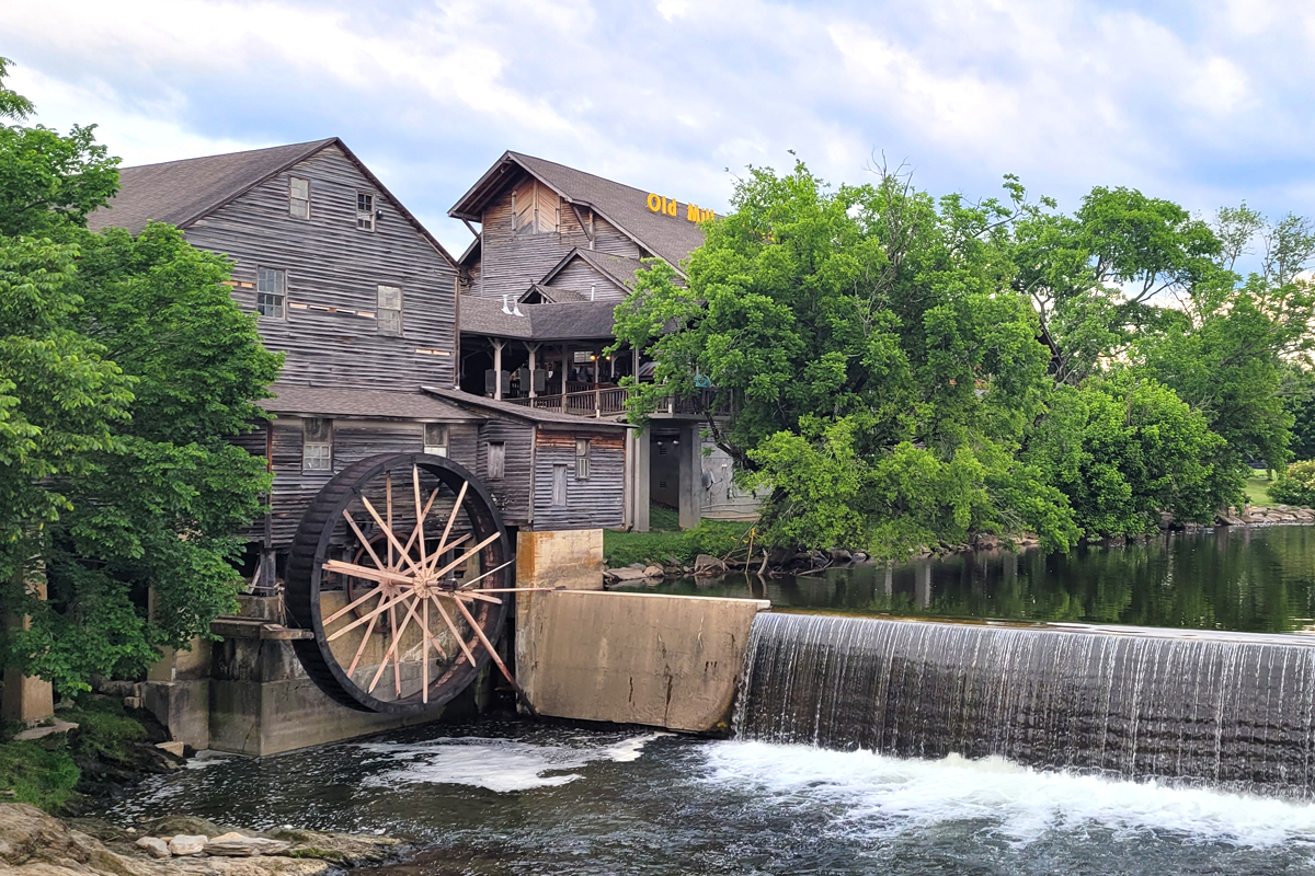 Exterior of The Old Mill